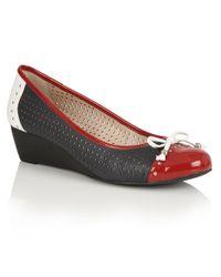 Lotus | Black Elizabeth Casual Shoes | Lyst