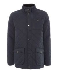 Howick - Blue The Pembroke Cotton Quilted Jacket for Men - Lyst