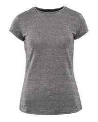 Ted Baker | Gray Misy Sparkle Fitted T-shirt | Lyst