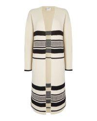 Vero Moda - Multicolor Long Sleeve Cardigan - Lyst