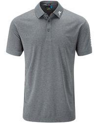 J.Lindeberg | Gray Tour Tech Tx Polo Shirt for Men | Lyst