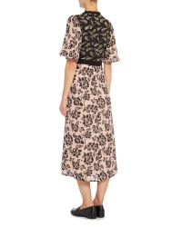 Inwear - Pink Floral Printed Dress - Lyst