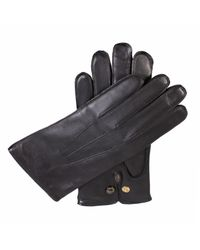 Dents | Black Mens Leather Gloves With Wool Lining for Men | Lyst