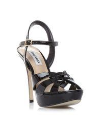 Steve Madden | Natural Kaiden Strappy Platform Sandals | Lyst