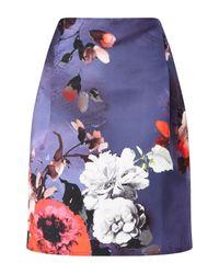 James Lakeland | Blue Floral Print Skirt | Lyst