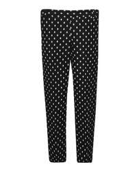 Great Plains | Black Ikat Spot Stretch Skinny Trousers | Lyst
