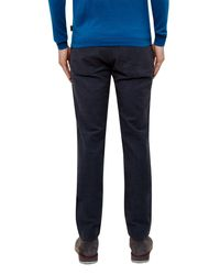Ted Baker | Blue Classic Fit Pants for Men | Lyst