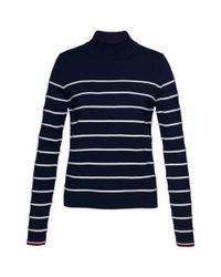 Tommy Hilfiger | Blue Ivy Stripe Sweater | Lyst