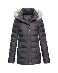 Tommy Hilfiger | Black New Tyra Down Jacket | Lyst