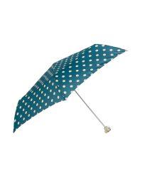 Cath Kidston - Green Minilite-2 Button Spot Bill Umbrella - Lyst