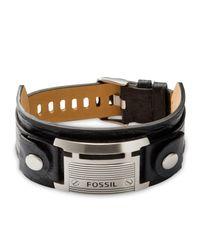 Fossil | Black Ja84816040 Mens Bracelet for Men | Lyst
