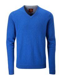 Skopes | Blue Lerwick Knitwear for Men | Lyst