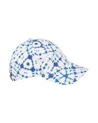 Seafolly | Blue Tie Dye Logo Canvas Sports Cap for Men | Lyst