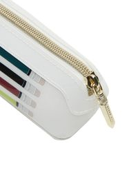 Ted Baker - White Iulia Pencil Print Pencil Case - Lyst