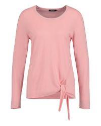 Olsen   Pink Side Knot Detail Jumper   Lyst