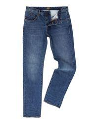 Barbour | Blue Mid Wash Regular Fit Jean for Men | Lyst