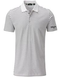 Bobby Jones | White Double Pin Stripe Polo for Men | Lyst