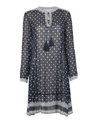 Part Two | Blue Printed Dress | Lyst