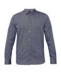 Ted Baker | Blue Giggles Geo Print Shirt for Men | Lyst