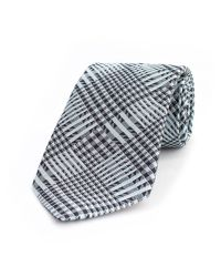 Thomas Pink | Blue Girtin Check Woven Tie for Men | Lyst