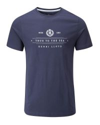 Henri Lloyd | Blue Kellas Regular Tee for Men | Lyst