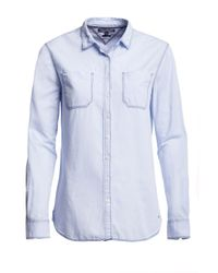 Tommy Hilfiger | Blue Abigail Oxford Shirt | Lyst