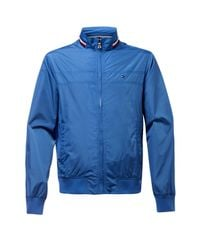 Tommy Hilfiger | Blue Lance Bomber Jacket for Men | Lyst