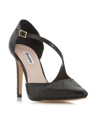Dune | Black Constanse Court Shoes | Lyst