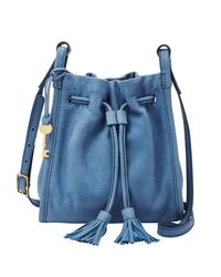 Fossil   Blue Zb7129895 Ladies Tote Bag   Lyst