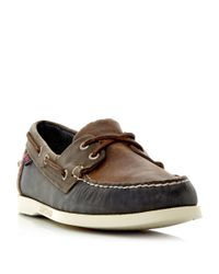 Sebago | Brown Spinnaker Multi-tone Boat Shoe for Men | Lyst