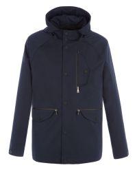 Ben Sherman | Blue Sharp Hooded Jacket for Men | Lyst