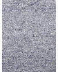 White Stuff - Blue Fade Out V Slub Jumper for Men - Lyst