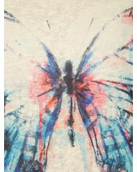 Izabel London | Natural Single Butterfly Print Top | Lyst