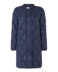 Part Two | Blue Ernada Quilted Coat | Lyst