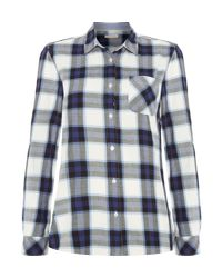 Barbour | Blue Headland Shirt | Lyst