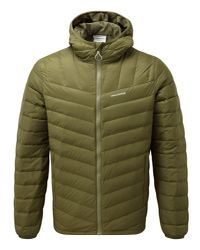 Craghoppers - Green Men's Brompton Natural Down Insulating Jacket for Men - Lyst
