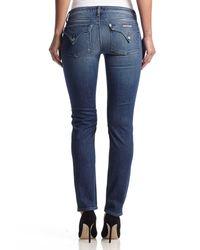 Hudson Jeans - Blue Jax Boyfriend Skinny - Lyst