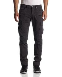 Hudson Jeans | Black Greyson Cargo Biker for Men | Lyst
