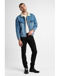 Hudson - Blue Denim Trucker Jacket for Men - Lyst