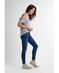 Hudson Blue Nico Midrise Super Skinny Ankle Jean