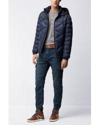 BOSS Orange - Brown Plaque-buckle Belt In Rich Leather for Men - Lyst