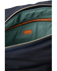 BOSS Orange - Blue 'bomber Holdall' | Padded Nylon Weekender for Men - Lyst