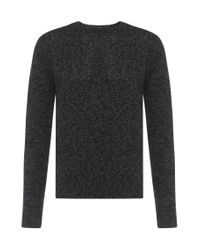 BOSS - Multicolor Mottled Cashmere Blend Tailored Sweater: 't-bianchi' for Men - Lyst