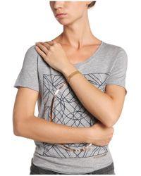 BOSS Orange - Brown Leather Bracelet In Braided Look: 'morissa3' - Lyst