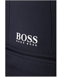 BOSS Green - Blue 'hakan' | Slim Fit, Coolmax Performance Golf Pants for Men - Lyst