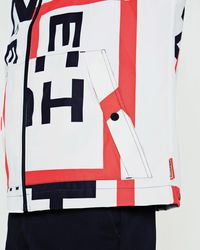 Hunter - Red Original Exploded Logo Jacket for Men - Lyst