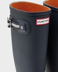 Hunter - Blue Women's Original Sissinghurst Tall Rain Boots - Lyst