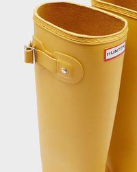 Hunter - Yellow Original Tour Rain Boots - Lyst