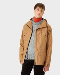 Hunter - Natural Men's Original 3 Layer Anorak for Men - Lyst