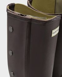 Hunter - Green Balmoral Side Zip Boots for Men - Lyst